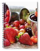 Fruits And Berries Spiral Notebook