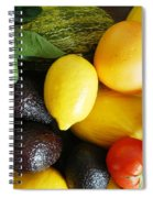 Fruits  And Vegetables  Spiral Notebook
