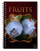 Fruits Gallery Spiral Notebook