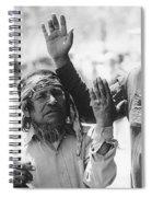 Ft. Apache Homage 1948 Ft. Apache Celebration Ft. Apache Arizona Saluting Apaches 1970 Spiral Notebook