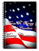 Ft. Bragg - Christmas Spiral Notebook