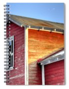 Ft Collins Barn 13502 Spiral Notebook