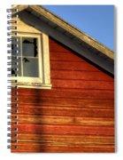 Ft Collins Barn Sunset 2 13508 Spiral Notebook