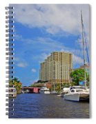 Ft. Lauderdale Canal Spiral Notebook