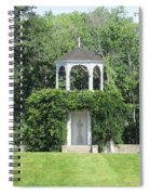 fu dog garden and Buddha Pavillion Spiral Notebook