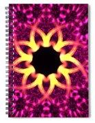 Fuchsia Flowers Spiral Notebook