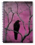 Fuchsia Spiral Notebook