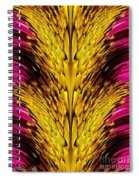 Fuchsia Sensation Abstract Spiral Notebook