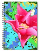 Fuchsia Tulip By M.l.d. Moerings 2012 Spiral Notebook