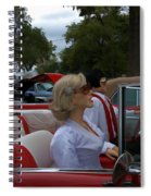 Fuel Injection Cadillac Spiral Notebook