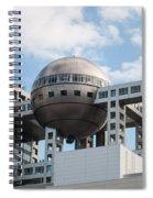 Fuji T.v Headquarters Spiral Notebook