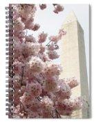 Full Bloom In Dc Spiral Notebook