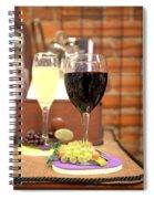 Full Glasses Spiral Notebook