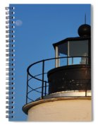 Full Moon At Piney Point Spiral Notebook