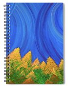 Full Moon Forest By Jrr Spiral Notebook
