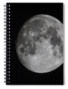 Full Moon Spiral Notebook