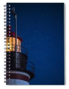 Full Moon On Quoddy No 2 Spiral Notebook