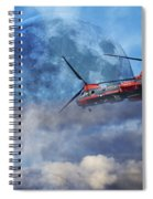 Full Moon Rescue Spiral Notebook