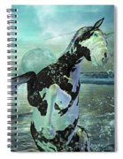 Full Moon Twist And Shout Spiral Notebook