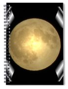 Full Moon Unfolding Spiral Notebook