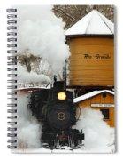 Full Steam Ahead Spiral Notebook