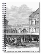 Fulton Fish Market, 1881 Spiral Notebook