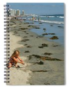 Fun At The Beach  Spiral Notebook