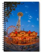 Fun Forest Now That Looks Fun Spiral Notebook