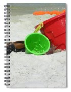 Fun In The Sun Spiral Notebook