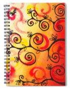 Fun Tree Of Life Impression I Spiral Notebook