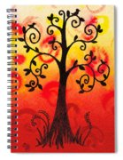 Fun Tree Of Life Impression IIi Spiral Notebook