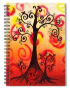 Fun Tree Of Life Impression Vi Spiral Notebook