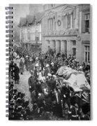 Funeral Of Queen Victoria Spiral Notebook