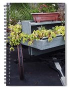 Funeral Wagon Spiral Notebook