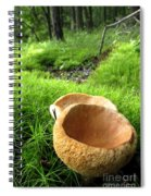 Fungi Cup Spiral Notebook