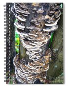 Fungus Invasion Spiral Notebook