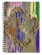 Funky British Shilling Spiral Notebook