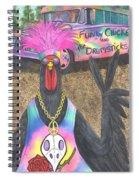 Funky Chicken Spiral Notebook