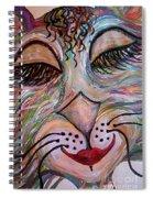 Funky Feline  Spiral Notebook