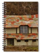 Funky House On 17 Mile Drive Spiral Notebook