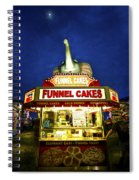 Funnel Cakes Spiral Notebook