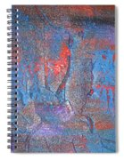 Funny Rain Spiral Notebook