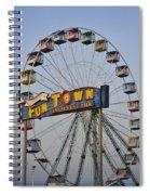 Funtown Ferris Wheel Spiral Notebook