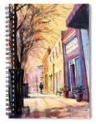 Fuquay-varina Downtown Spiral Notebook