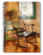 Furniture - Chair - The Rocking Chair Spiral Notebook