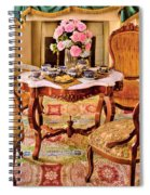 Furniture - Chair - The Tea Party Spiral Notebook