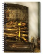 Furniture - Fireplace - A Simple Fireplace Spiral Notebook