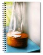 Furniture - Lamp - In The Window  Spiral Notebook
