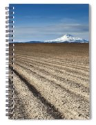 Furrows Spiral Notebook