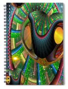 Further Up The Number Line Spiral Notebook